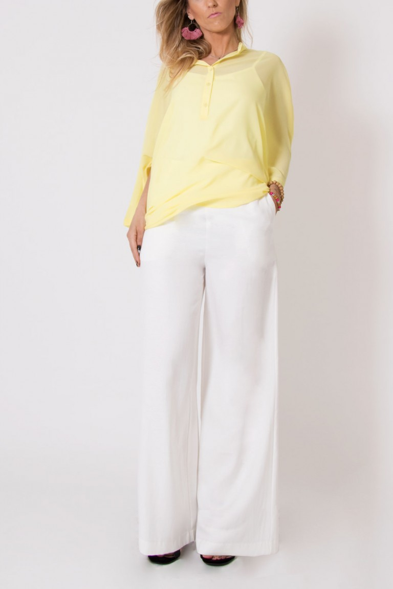 HIGH WAIST TROUSERS WITH WIDE LEG