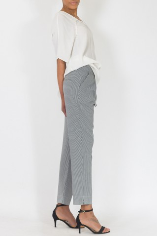 VICHY CHESS TROUSERS