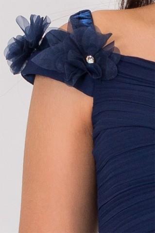 FLOWER DETAIL MAXI DRESS