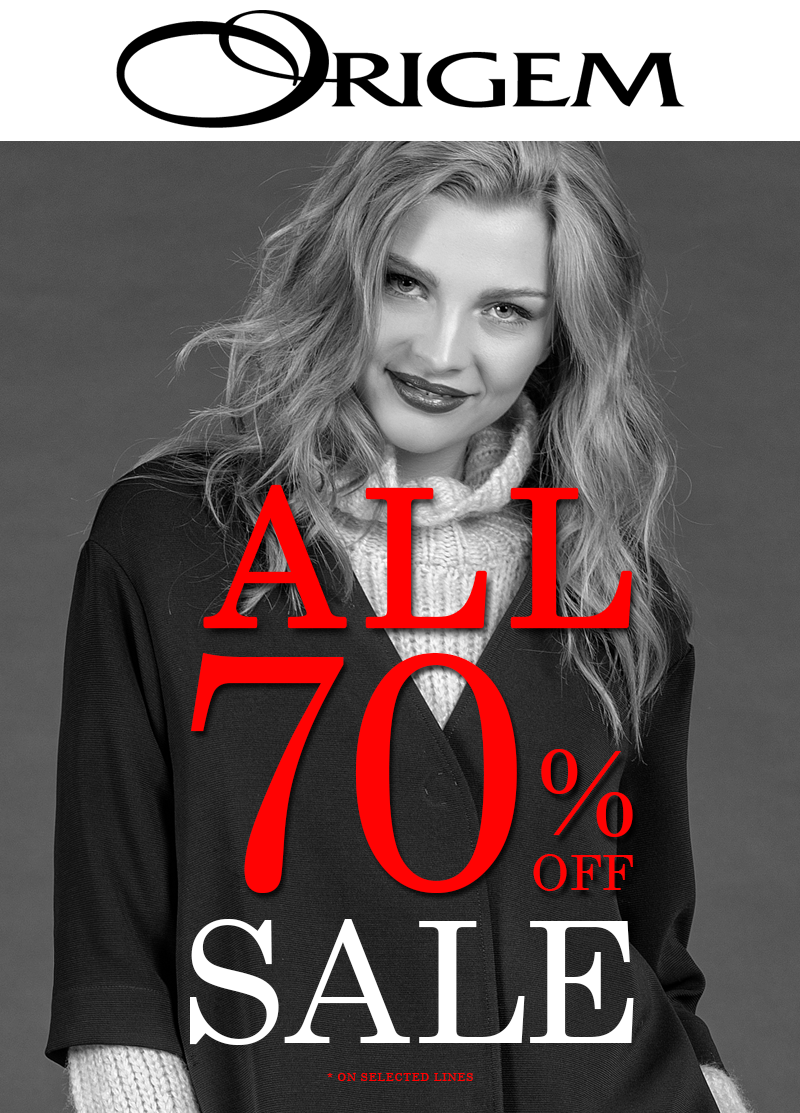 GCC COUNTRIES | ALL 70% OFF SALE ON SELECTED LINES
